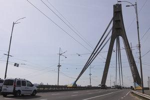 В Киеве за 288 млн гривен отремонтируют Северный мост