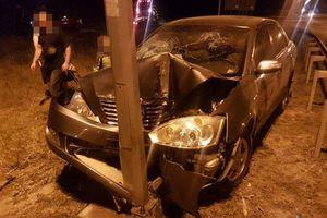 Погоня в Ровенской области: пьяный водитель снес электроопору