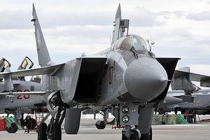 В России разбился самолет МиГ-31