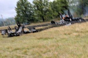 Крушение российского МиГ-31: первые фото с места аварии