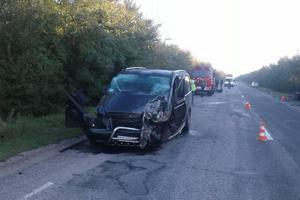 Смертельная авария под Запорожьем: погибли четыре человека