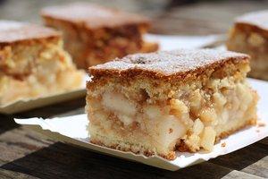 Как приготовить шведский яблочный пирог с орехами