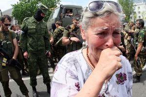 Бойовики в Донецьку. Фото: архів