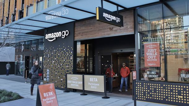 Amazon желает  к 2021-ому  открыть 3 тысячи магазинов без кассиров