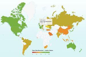 Украина - 17 страна в рейтинге открытости госданных