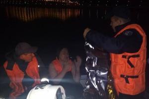 Из Днепра в Киеве вытянули женщину в бесчувственном состоянии
