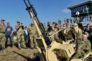 """Автоматическая """"зенитка"""", ракеты и ударный БПЛА: в Украине испытали новое вооружение (фото)"""