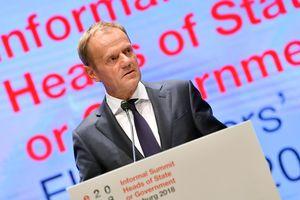 Туск назвал бескомпромиссной позицию Великобритании по Brexit