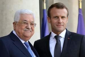 Макрон поддержал возобновление переговоров Израиля и Палестины