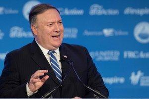 США не ставят перед собой цель сменить режим в Иране - Помпео