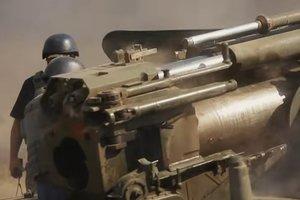 На Донбассе боевики в нарушение линии отвода перемещают тяжелое вооружение