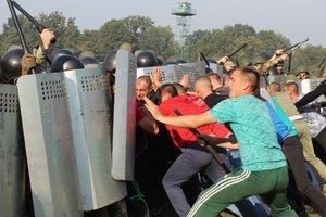 Пограничники провели учения на границе: появились яркие фото