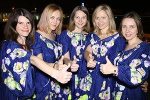 Украинские шахматистки поразили нарядами: на вышивку каждого платья ушло 16 километров ниток