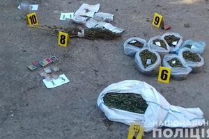 Запорожские копы изъяли четыре килограмма марихуаны и семена элитной конопли