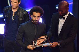 Видео шикарного гола, за который Салах получил награду от ФИФА
