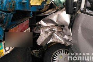 В Полтавской области столкнулись маршрутка и молоковоз, есть пострадавшие