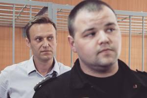 """Суд вновь отправил Навального под арест по """"экзотической"""" статье"""