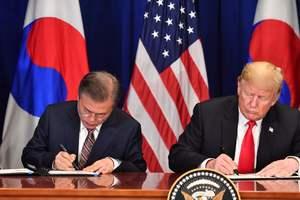 США и Южная Корея подписали договор о свободной торговле