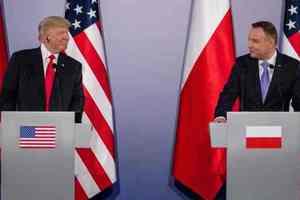 """""""Форт Трамп"""": США изучают территорию Польши для размещения военной базы"""