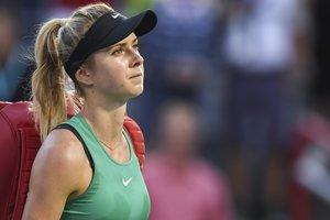 Свитолина проиграла первый же матч под руководством нового тренера