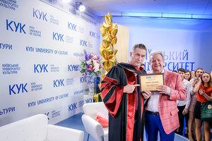 Голливудский актер – профессор киевского университета: реакция и комментарии студентов