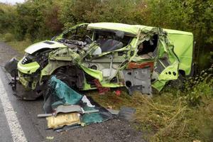 В Винницкой области столкнулись грузовик и легковушка: один человек погиб, четверо пострадали