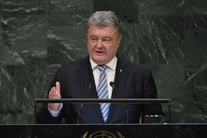 ООН не должна молчать, когда страна с правом вето нарушает ее устав и принципы – Порошенко