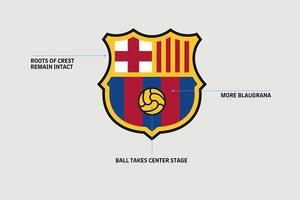 """Новая эмблема """"Барселоны"""": найдите отличия"""