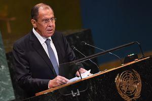 Лавров заявил, что Россия согласна на охрану ООН для миссии ОБСЕ на Донбассе