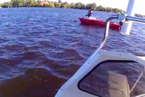 Трагедия на катере в Запорожье: появились подробности и видео с места происшествия
