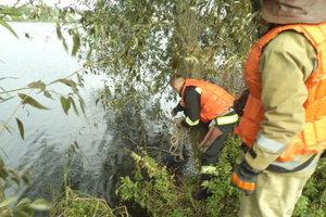 На Печерске в Киеве в озере утонул мужчина