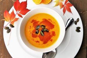 Осенний обед из тыквы: готовим суп, запеканку и салат