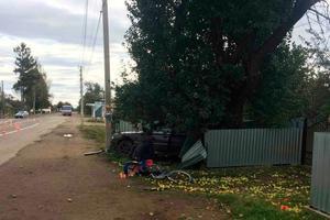 В Черновицкой области BMW насмерть сбил велосипедистку