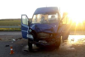 В Николаевской области микроавтобус с иностранцами попал в ДТП: пострадали восемь человек