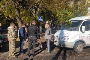 Серьезное ДТП в курортном Бердянске: грузовик столкнулся с мопедом