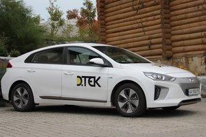 ДТЭК продолжит перевод корпоративного парка на электромобили