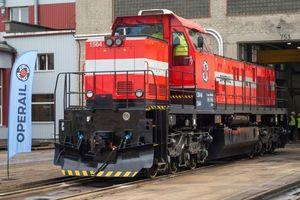 В Эстонии впервые за 86 лет выпустили локомотив: фото