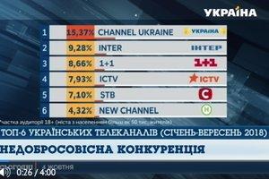 """Продюсеры канала """"Украина"""" призвали своих коллег к добросовестной конкуренции."""