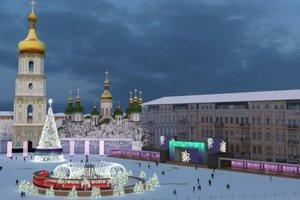 В Киеве главная елка страны будет гораздо ниже прошлогодней