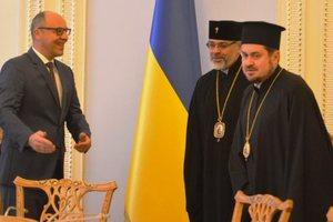 Парубий пригласил Вселенского патриарха в Украину