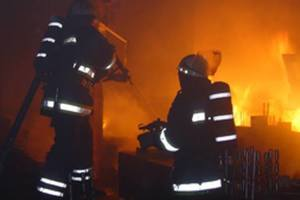 Во центре Львове горел исторический дом