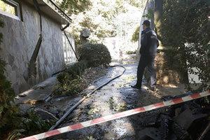 В Черкассах горел зоопарк: фото, видео