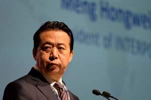 Арестованный в Китае глава  Интерпола подал в отставку