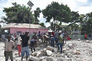 Землетрясение на Гаити: количество жертв возросло