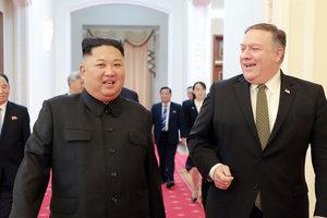 Встреча Ким Чен Ына и Помпео: в Госдепе рассказали, о чем договорились