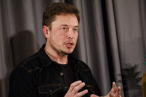 Твит Илона Маска обвалил акции Tesla