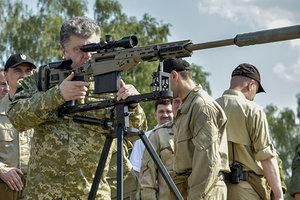 """Порошенко рассказал, как """"Укроборонпром"""" вооружает украинскую армию"""