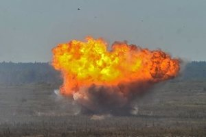 ЧП на складах в Ичне: интенсивность – 2-3 взрыва в секунду