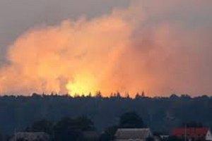 Пожар на арсенале в Ичне: Генштаб прокомментировал версию о диверсии