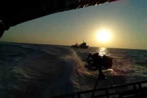 В Азовском море начались военные учения: опубликованы фото